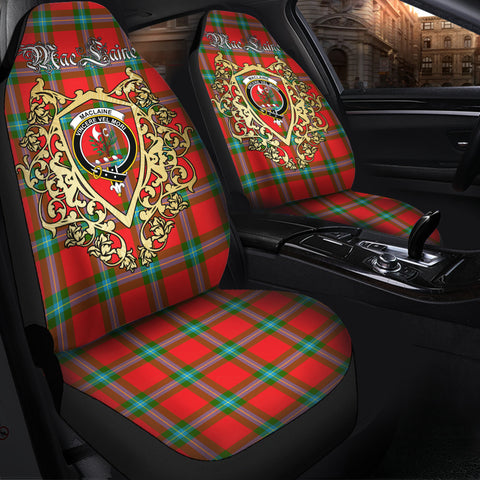 MacLaine of Loch Buie Clan Car Seat Cover Royal Sheild