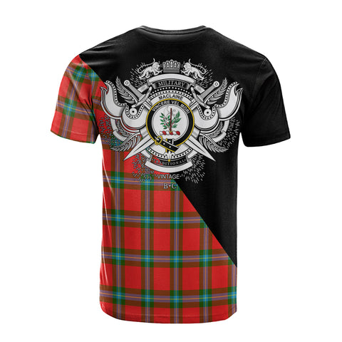 MacLaine of Loch Buie Clan Military Logo T-Shirt K23