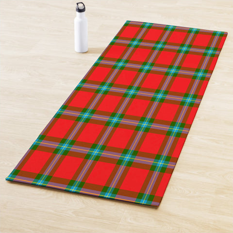 Image of MacLaine of Loch Buie Clan Tartan Yoga mats