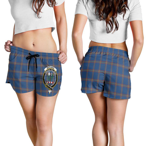 MacLaine of Loch Buie Hunting Ancient Crest Tartan Shorts For Women K7