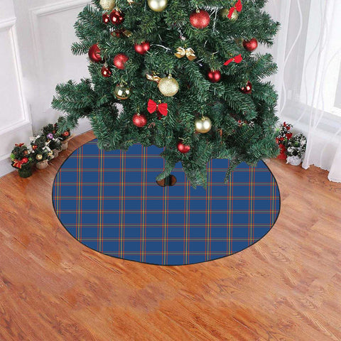 MacLaine of Loch Buie Hunting Ancient Tartan Tree Skirt Christmas