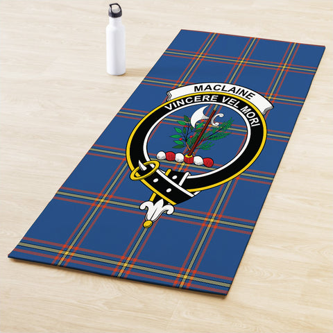 MacLaine of Loch Buie Hunting Ancient Clan Crest Tartan Yoga mats