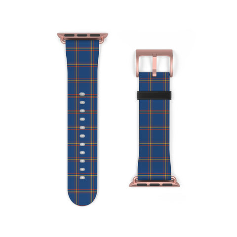 MacLaine of Loch Buie Hunting Ancient Scottish Clan Tartan Watch Band Apple Watch