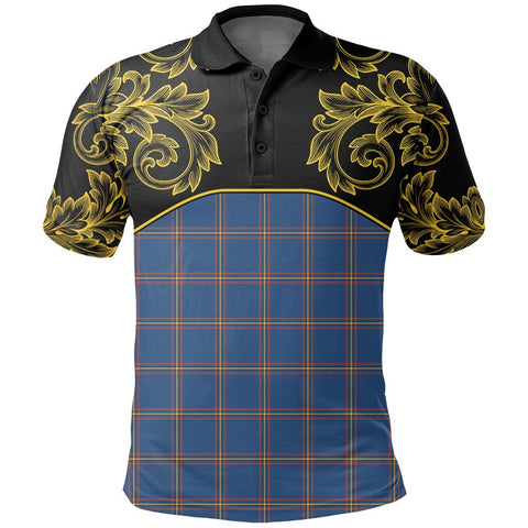 MacLaine of Loch Buie Hunting Ancient Tartan Clan Crest Polo Shirt - Empire I - HJT4 - Scottish Clans Store - Tartan Clans Clothing - Scottish Tartan Shopping - Clans Crest - Shopping In scottishclans - Polo Shirt For You