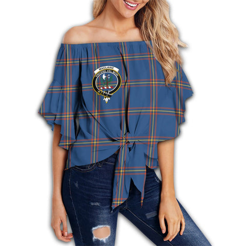 Image of MacLaine of Loch Buie Tartan Crest