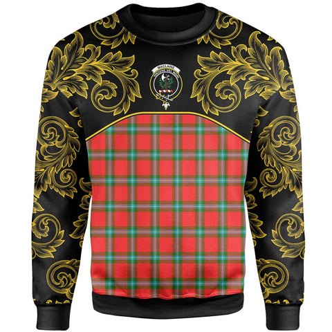 Image of MacLaine of Loch Buie Tartan Clan Crest Sweatshirt - Empire I - HJT4 - Scottish Clans Store - Tartan Clans Clothing - Scottish Tartan Shopping - Clans Crest - Shopping In scottishclans - Sweatshirt For You