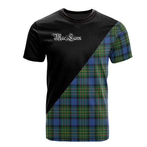 MacLaren Ancient Clan Military Logo T-Shirt