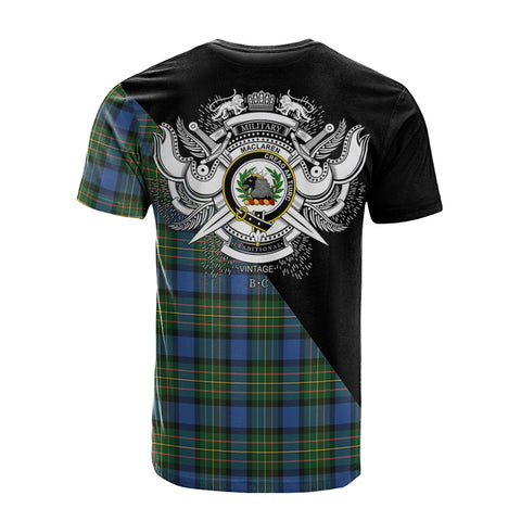 MacLaren Ancient Clan Military Logo T-Shirt K23