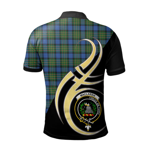MacLaren Ancient Clan Believe In Me Polo Shirt