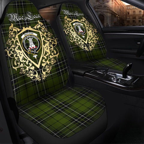 MacLean Hunting Clan Car Seat Cover Royal Sheild