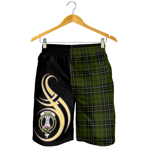 MacLean Hunting Clan Believe In Me Men Short