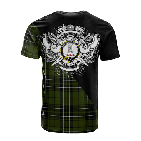 Image of MacLean Hunting Clan Military Logo T-Shirt K23