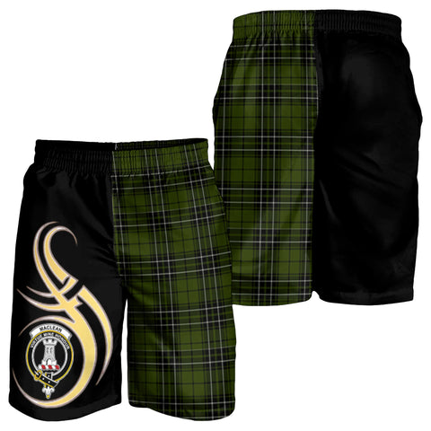 Image of MacLean Hunting Clan Believe In Me Men Short