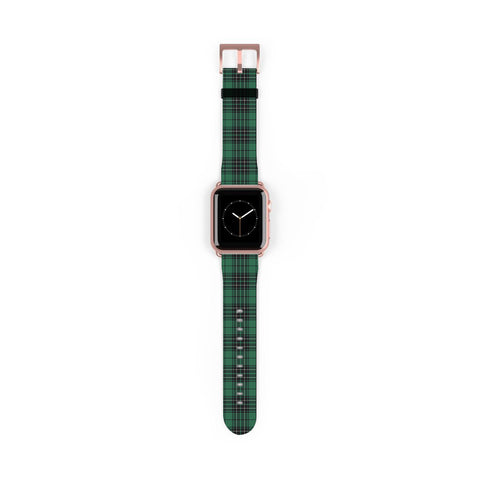 MacLean Hunting Ancient Scottish Clan Tartan Watch Band Apple Watch