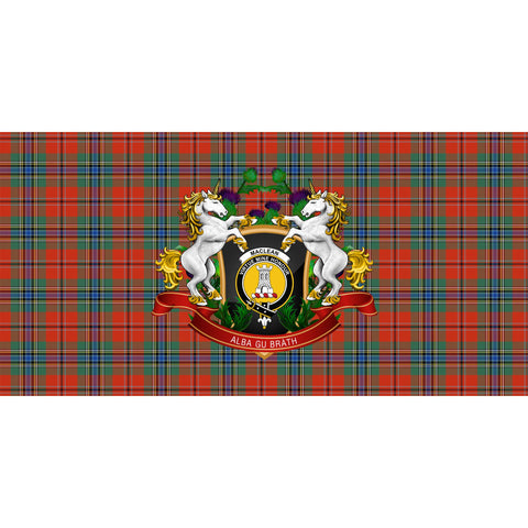 MacLean of Duart Ancient Crest Tartan Tablecloth Unicorn Thistle A30