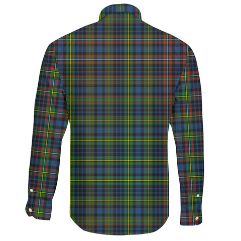 MacLellan Ancient Tartan Clan Long Sleeve Button Shirt A91