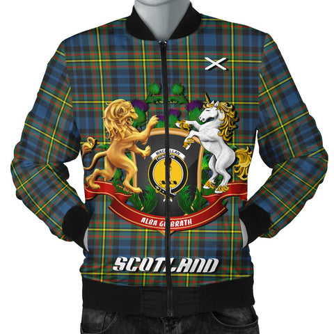 MacLellan Ancient | Tartan Bomber Jacket | Scottish Jacket | Scotland Clothing