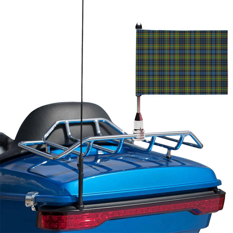 MacLellan Ancient Clan Tartan Motorcycle Flag
