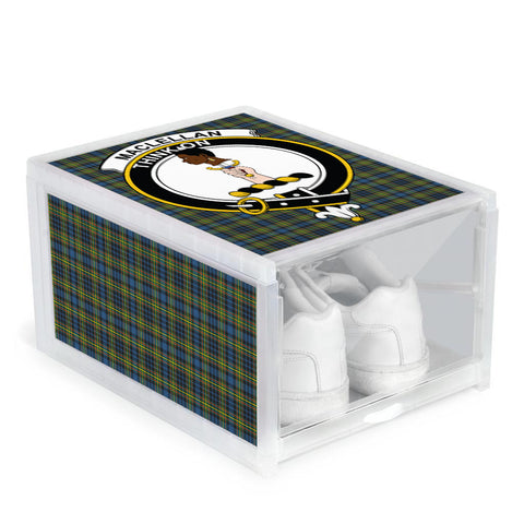 MacLellan Ancient Clan Crest Tartan Scottish Shoe Organizers