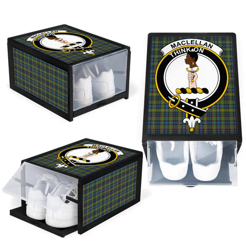 MacLellan Ancient Clan Crest Tartan Scottish Shoe Organizers K9