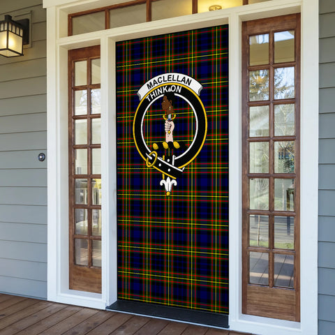 Image of MacLellan Modern Tartan Door Sock Cover
