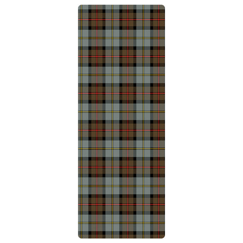 Image of MacLeod of Harris Weathered Clan Tartan Yoga mats