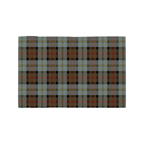 Image of MacLeod of Harris Weathered Clan Tartan Motorcycle Flag