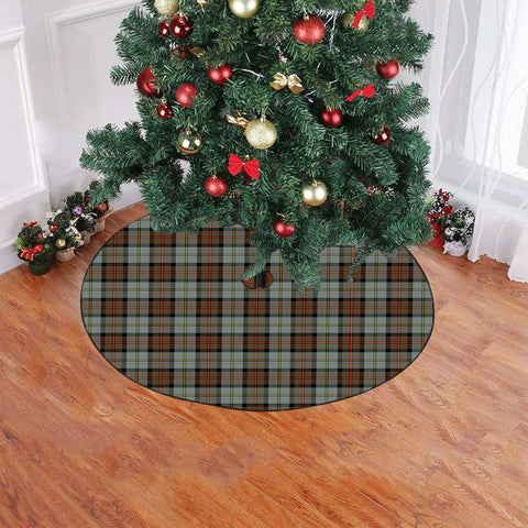 Image of MacLeod of Harris Weathered Tartan Tree Skirt Christmas