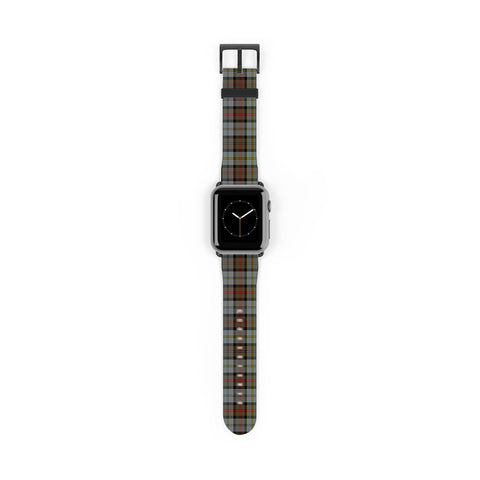 Image of MacLeod of Harris Weathered Scottish Clan Tartan Watch Band Apple Watch