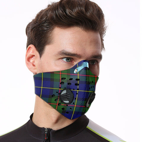 Image of MacLeod of Harris Modern Tartan Dust-proof Sports Masks ( Model 1) - TH88 (USA Shipping Line)