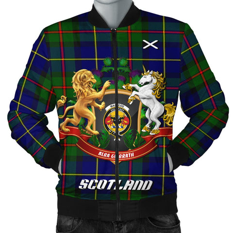 MacLeod of Harris Modern | Tartan Bomber Jacket | Scottish Jacket | Scotland Clothing