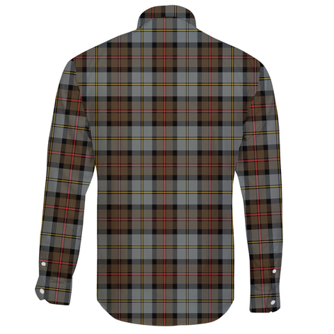 Image of MacLeod of Harris Weathered Tartan Clan Long Sleeve Button Shirt A91