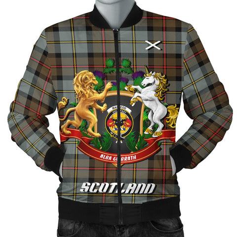 Image of MacLeod of Harris Weathered | Tartan Bomber Jacket | Scottish Jacket | Scotland Clothing