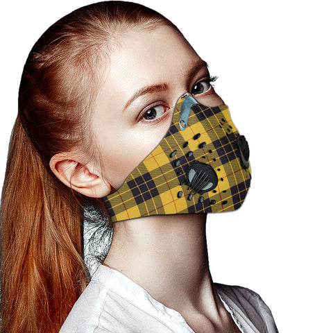 MacLeod of Lewis Ancient Tartan Dust-proof Sports Masks ( Model 1) - TH88 (USA Shipping Line)