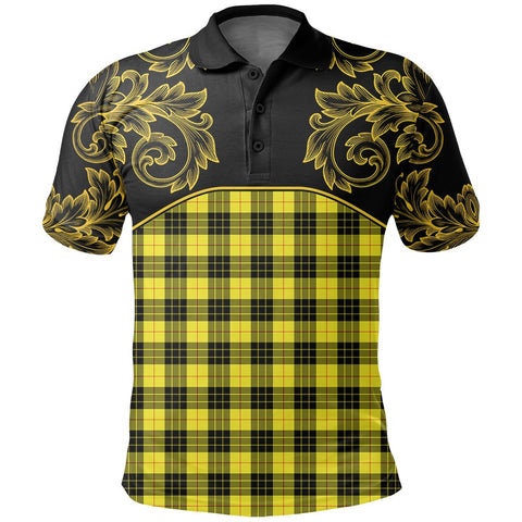 Image of MacLeod of Lewis Modern Tartan Clan Crest Polo Shirt - Empire I - HJT4 - Scottish Clans Store - Tartan Clans Clothing - Scottish Tartan Shopping - Clans Crest - Shopping In scottishclans - Polo Shirt For You