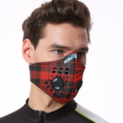 MacLeod of Raasay Tartan Dust-proof Sports Masks ( Model 1) - TH88 (USA Shipping Line)