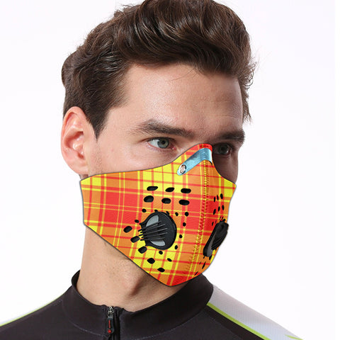 Image of MacMillan Clan Tartan Dust-proof Sports Masks ( Model 1) - TH88 (USA Shipping Line)