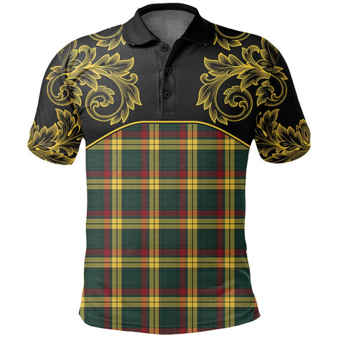 MacMillan Old Modern Tartan Clan Crest Polo Shirt - Empire I - HJT4 - Scottish Clans Store - Tartan Clans Clothing - Scottish Tartan Shopping - Clans Crest - Shopping In scottishclans - Polo Shirt For You