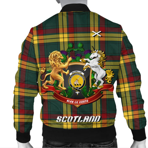 MacMillan Old Modern | Tartan Bomber Jacket | Scottish Jacket | Scotland Clothing