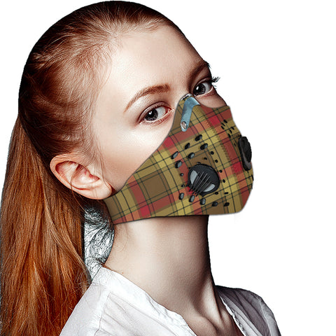 Image of MacMillan Old Weathered Tartan Dust-proof Sports Masks ( Model 1) - TH88 (USA Shipping Line)