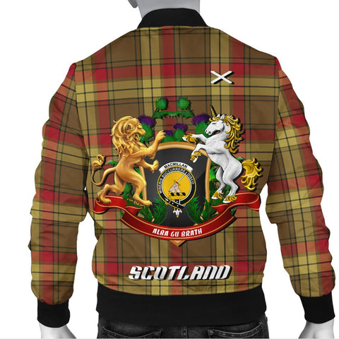 Image of MacMillan Old Weathered | Tartan Bomber Jacket | Scottish Jacket | Scotland Clothing