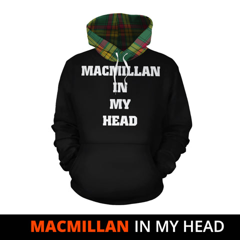 Image of MacMillan Old Ancient In My Head Hoodie Tartan Scotland K9