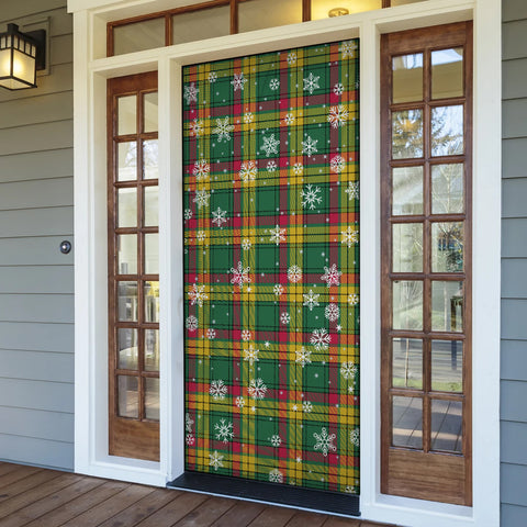 MacMillan Old Ancient Christmas Tartan Door Sock Cover