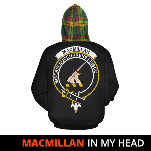MacMillan Old Ancient In My Head Hoodie Tartan Scotland K9