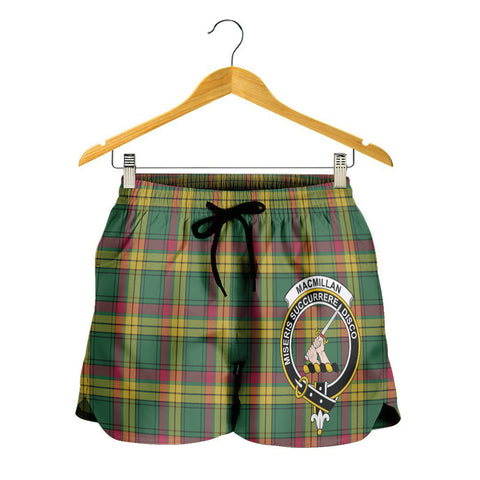 Image of MacMillan Old Ancient Crest Tartan Shorts For Women K7