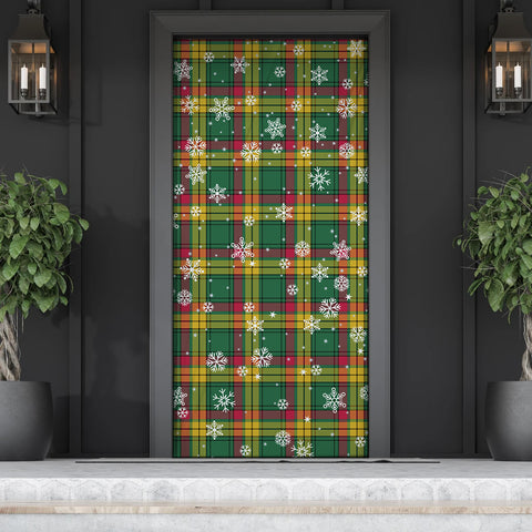 Image of MacMillan Old Ancient Christmas Tartan Door Sock Cover