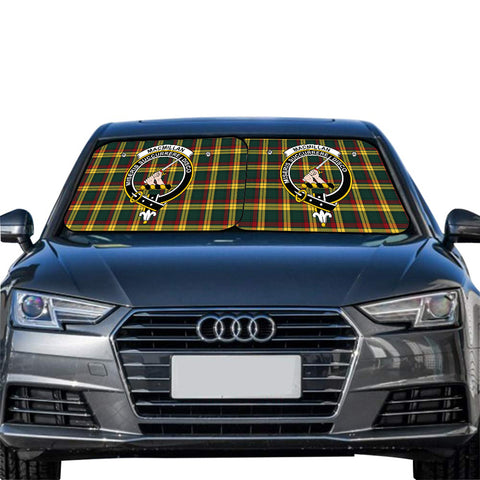 MacMillan Old Modern Clan Crest Tartan Scotland Car Sun Shade 2pcs