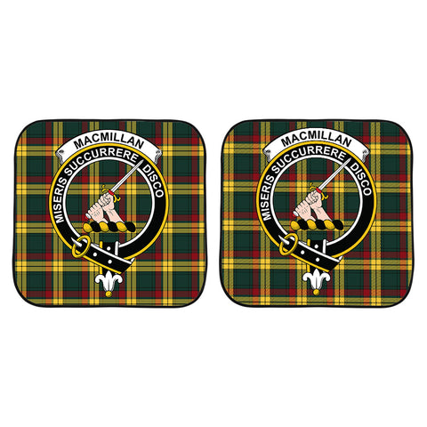 MacMillan Old Modern Clan Crest Tartan Scotland Car Sun Shade 2pcs K7