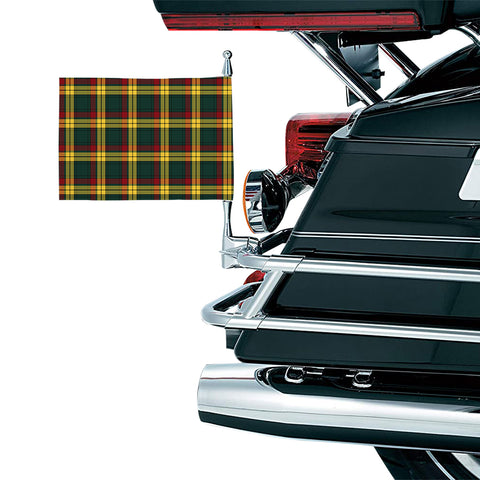 MacMillan Old Modern Clan Tartan Motorcycle Flag