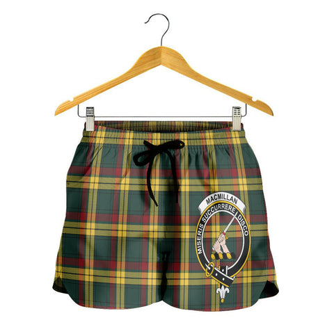 MacMillan Old Modern Crest Tartan Shorts For Women K7